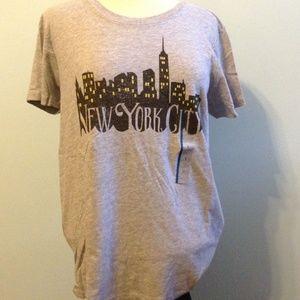 Tops - New York City Lights T Shirt Juniors Size Large